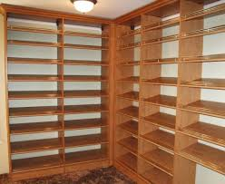 Closet Door Shoe Storage Wonderful Tips For Choosing The Material Of Shelves For Closet
