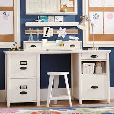 Computer Storage Desk Chatham Large File Storage Desk Hutch Pbteen