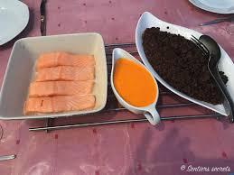 saumon cuisine fut saumon poêlé aux lentilles vertes du puy sentiers secrets
