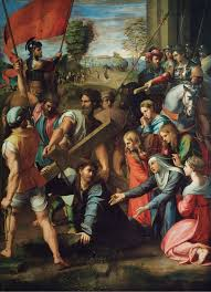 christ carrying the cross wikipedia