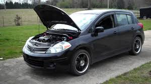 grey nissan versa hatchback nissan versa hatchback modified youtube