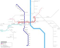 Berlin Metro Map by Urbanrail Net U003e Europe U003e Poland U003e Metro Warszawskie Warsaw Metro