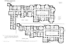 apartments big house plans first and second floor plans of
