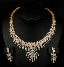 designer diamond sets 13 diamond necklace jewellery designs