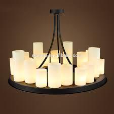 Chandelier Socket Uncategorized Pillar Candle Chandelier For Lovely Impressive