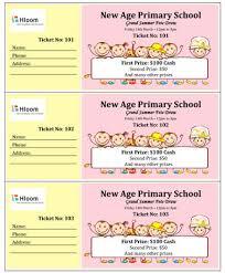 valentine raffle tickets 15 free raffle ticket templates in microsoft word mail merge