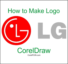 tutorial design logo corel draw x5 how to make a logo with coreldraw x4 x5 x6 x7 x8 logo lg