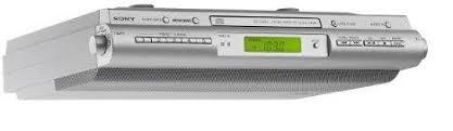 radio cd cuisine sony icf cdk 50 radio cd pour cuisine montage sous un meuble