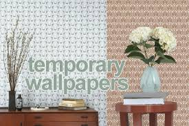 removable wallpaper for renters temporary wallpapers interior design trend spotting for renters