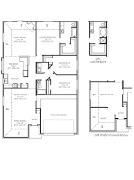 Cedar Home Floor Plans New Single Story House Plans In Katy Tx The Epsom At Lakecrest
