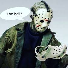 Meme Jason - crocs are spooky memebase funny memes