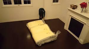 Costco Folding Bed Novaform Mattress From Costco Youtube