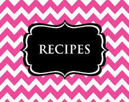printable recipe sheet template recipe card recipe binder