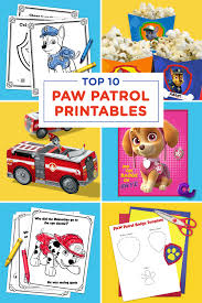 thanksgiving pictures to color and print free the top 10 paw patrol printables of all time nickelodeon parents