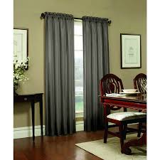 Blackout Curtains Lowes Shop Allen Roth Columbia 84 In Mineral Polyester Rod Pocket