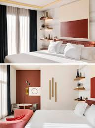 bedroom design idea replace a bedside table and lamp with