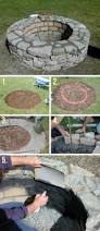 round patio stone 27 awesome diy firepit ideas for your yard stone rounding and easy