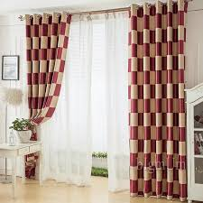 Modern Pattern Curtains Aliexpress Com Buy Modern Curtains And Window Treatments For