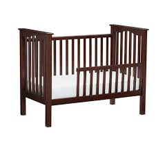 Converting Crib To Toddler Bed Kendall Toddler Bed Conversion Kit Pottery Barn