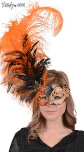 orange mardi gras 25 best masks images on feather mask masquerade masks