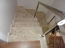 Famosos Pedra Forte - Escada em Mármore Travertino #IO36