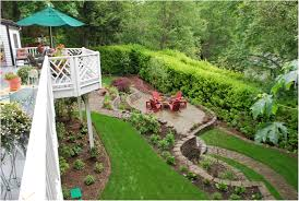 Landscape Ideas For Small Backyard by Backyards Bright Backyard Landscaping Designs 110 Landscape