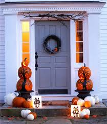 Halloween Cheap Decorating Ideas Halloween Begins And Ends With Your Front Porch The Accent