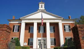 Winter Garden Courthouse - historic courthouses of western north carolina