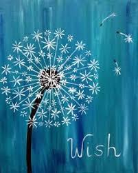 best 25 dandelion painting ideas on dandelion