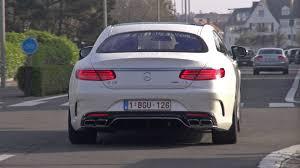 mercedes s63 amg coupe 2015 2015 mercedes s63 amg coupe accelerating sound