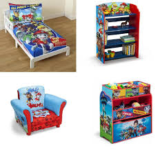 Paw Patrol Room Decor Themed Bedroom Sets And This Paw Patrol Room In A Box