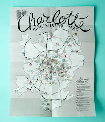 Charlotte Nc Airport Map Charlotte Adventure Map Off The Eaten Path