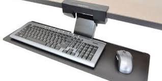Under Desk Laptop Shelf Best Clamp On Keyboard Tray For Under The Desk Easy Mount Review