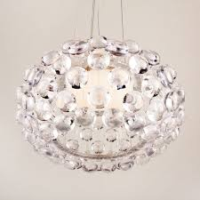 35cm modern caboche chandelier acrylic ball ceiling light