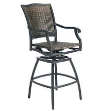 stools luxury wicker bar stool back support black wicker bar