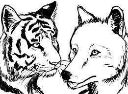 the tiger and the wolf kirazi by purrioso on deviantart