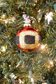 santa belt ornament whats ur home story