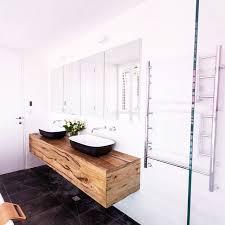 Wooden Bathroom Vanities by The Judges Loved Our Custom Floating Timber Vanity Unit In Josh