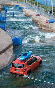 volkswagen thing in water watch a jeep renegade conquer an olympic white water rafting