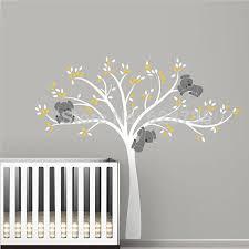 stickers chambre b b arbre stickers dcoration chambre bb sticker mural pour la deco chambre