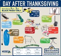 black friday deals up to 200 lifetime products at backyards