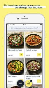 application cuisine frichti บน app store