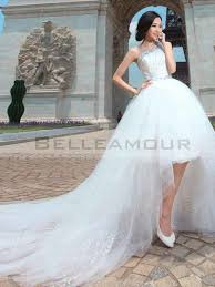 robe mari e courte devant longue derriere robe de mariée chic courte devant longue derrière tulle a ligne