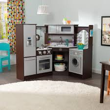 Kitchen Set Furniture Ultimate Corner Play Kitchen Set With Lights U0026 Sounds