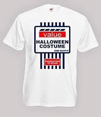 5xl Halloween Costumes Tesco Halloween Costume Spoof Mens Fancy Dress Tshirt Size