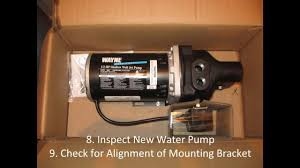 do it yourself shallow well jet pump replacement youtube