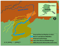 Map Of Yukon Victory In 6 Year Fight Applause To Fish U0026 Wildlife Service For