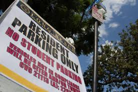 Csulb Campus Map Csulb Neighbors Concerned Unhappy With Student Parking U2013 Daily 49er