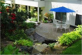 Backyard Easy Landscaping Ideas Backyards Enchanting Landscape Design Small Backyard Simple