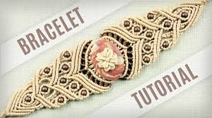 diy bracelet vintage images Macrame stone bracelet tutorial in vintage style boho diy jpg